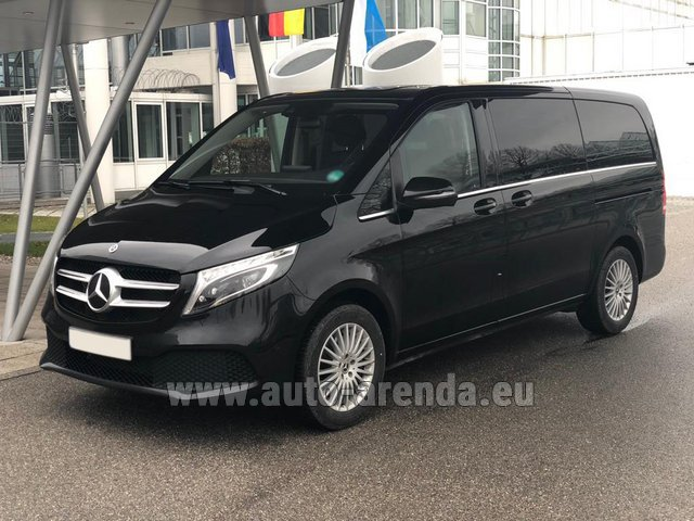 Rental Mercedes-Benz V-Class (Viano) V 300 d 4MATIC AMG equipment in Lisbon