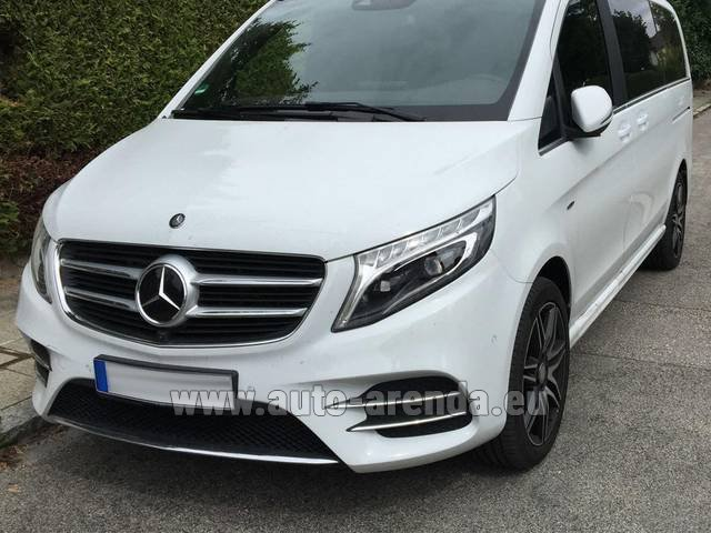 Rental Mercedes-Benz V-Class (Viano) V 250 D 4Matic AMG Equipment in Lagos