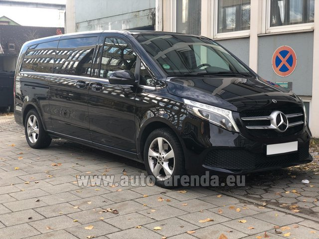 Rental Mercedes-Benz V-Class V 250 Diesel Long (8 seater) in Lisbon