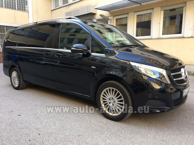 Rental Mercedes-Benz V-Class V 250 Diesel Long (8 seats) in Vilamoura