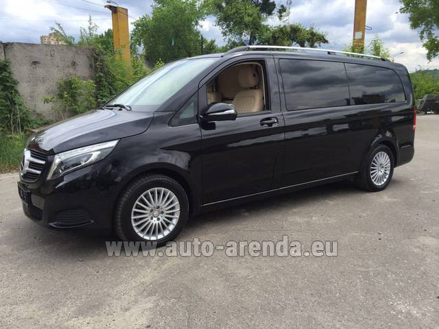Rental Mercedes-Benz V-Class V Limo Business VAN in Algarve