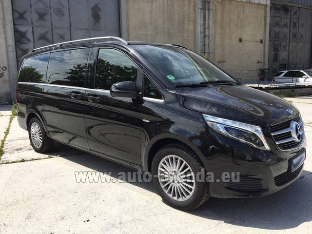 Rental Mercedes-Benz V-Class (Viano) V 250 Long 8 seats in Vilamoura