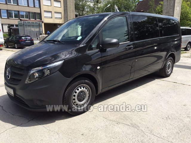 Rental Mercedes-Benz VITO Tourer 116 CDI (9 seats) AMG equipment in Vilamoura