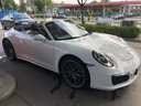 Rent-a-car Porsche 911 Carrera Cabrio White in Faro, photo 1