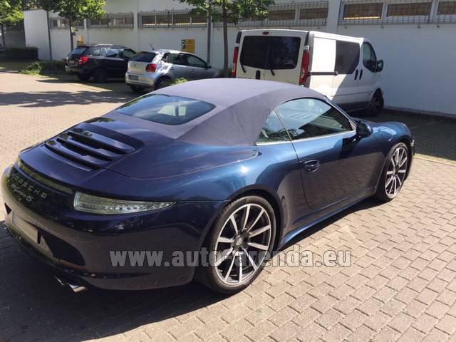 Rental price in Portugal for the car Porsche 911 Carrera 4S Cabriolet e4b4ca406c