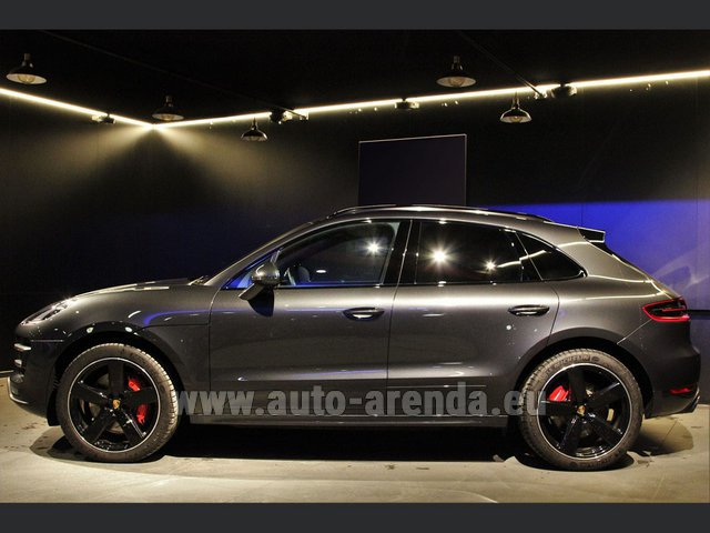 Hire and delivery to Lisbon Portela airport the car Porsche Macan S Diesel 3.0