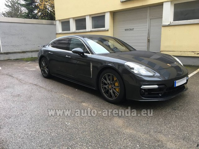 Rental Porsche Panamera Turbo Executive in Albufeira