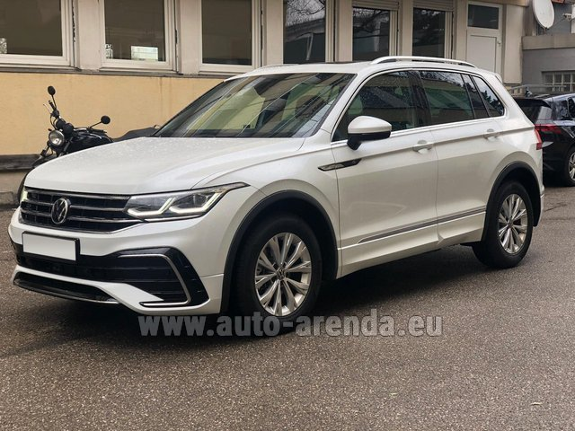 Hire and delivery to Lisbon Portela airport the car Volkswagen Tiguan R Line 2.0 TSI 333 hp