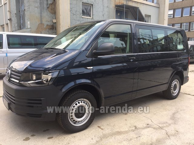 Hire and delivery to Lisbon Portela airport the car Volkswagen Transporter T6 (9 seater)