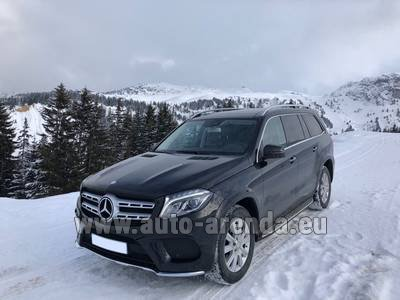 Мерседес-Бенц GLS BlueTEC 4MATIC комплектация AMG (1+6 мест)